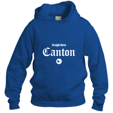 Cardiff City FC - Straight Outta Canton - Hooded Tops
