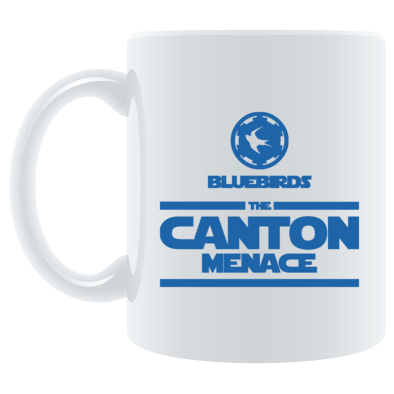 Cardiff City FC Bluebirds - The Canton Menace - Mugs