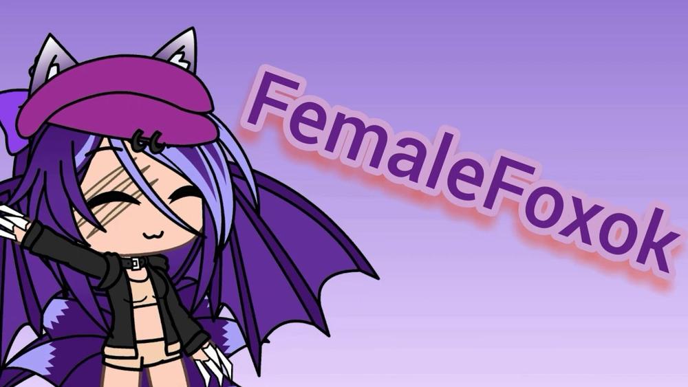 Femalefoxok's intro merch (Cups)>
