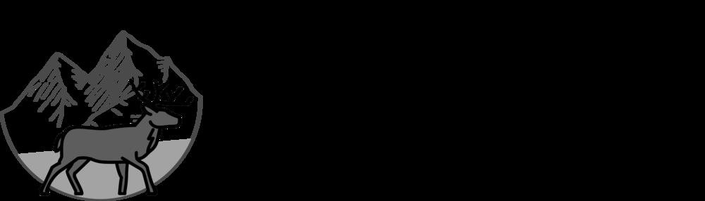 Gipfelhirsch Logo - Black'n'White>