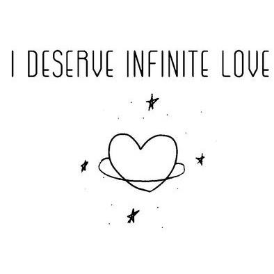 infinite love>