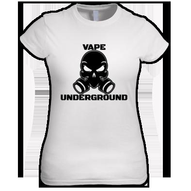 Women's Vape Underground T-shirt (Full Logo)