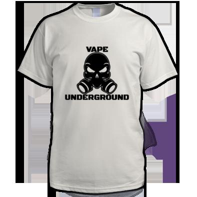 Men's Vape Underground T-shirt (Full Logo)