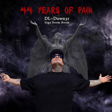 44 Years Of Pain Hoodie Unisex