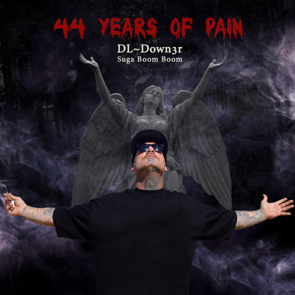 44 Years Of Pain Hoodie Unisex>