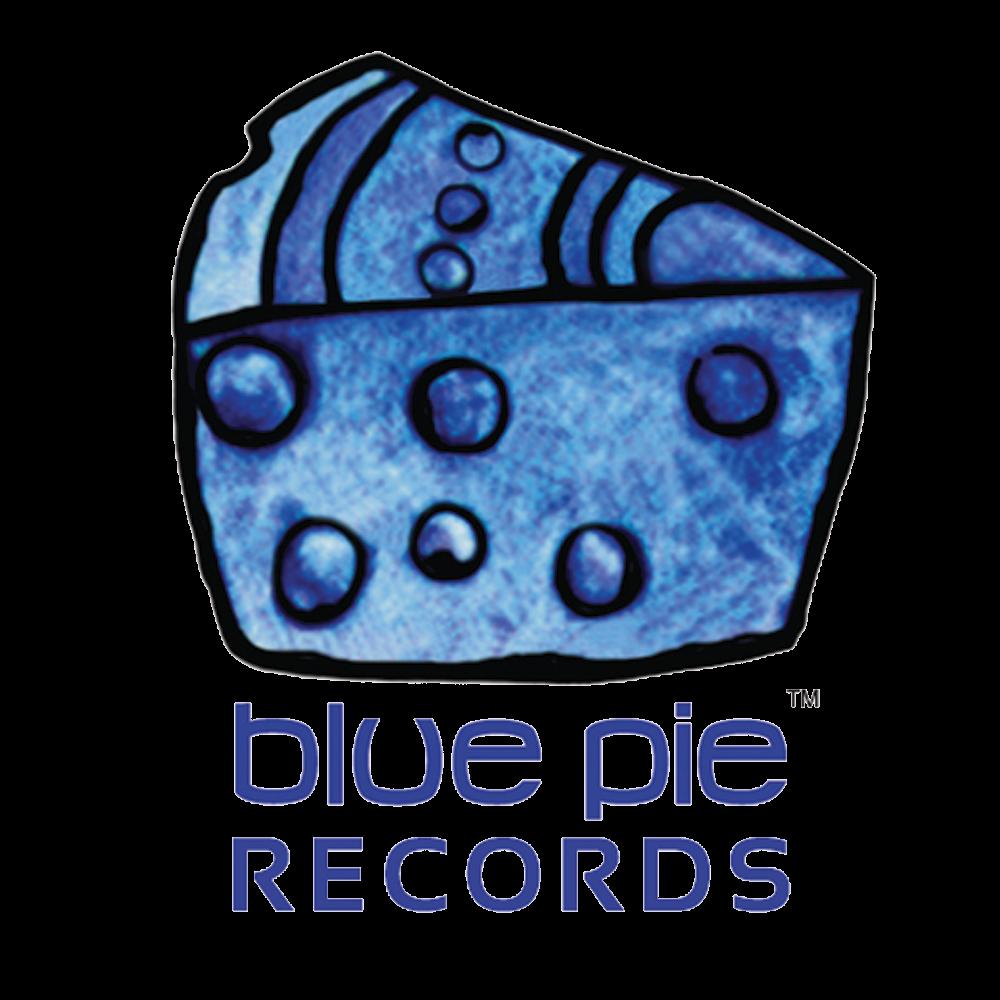 Blue Pie Records Logo Men's T-Shirt>