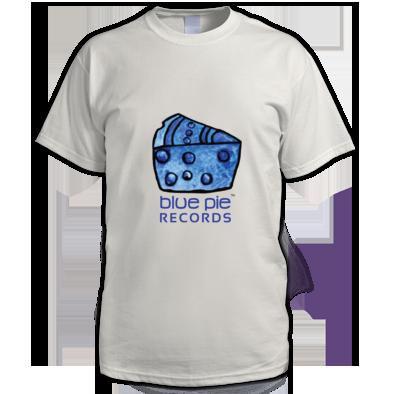 Blue Pie Records Logo Men's T-Shirt