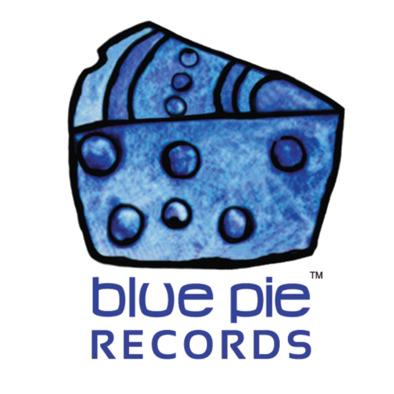 Blue Pie Records Logo Hoodie Unisex