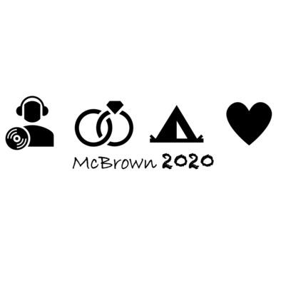 McBrown2020 Logo / Text Black>