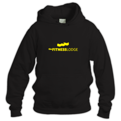 Black & Yellow Hoodie Unisex