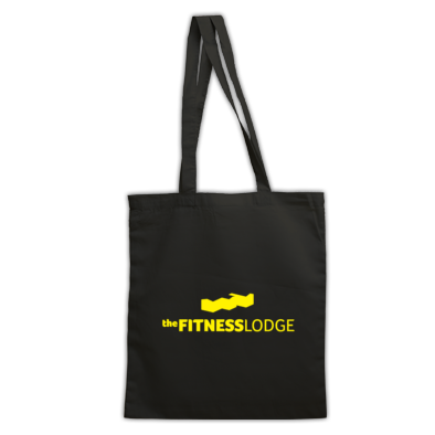 The Fitness Lodge Bag Black