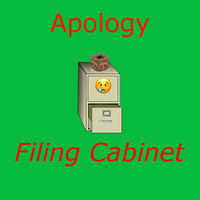 Apology Filing Cabinet>