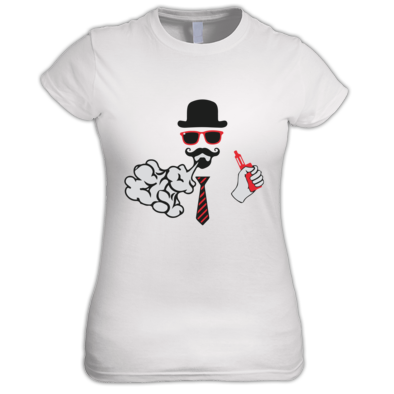 Cloud Vape Ladies T Shirt