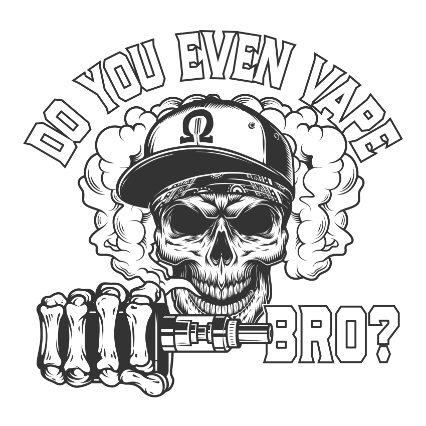 Do You Even Vape Bro Men's T Shirt>