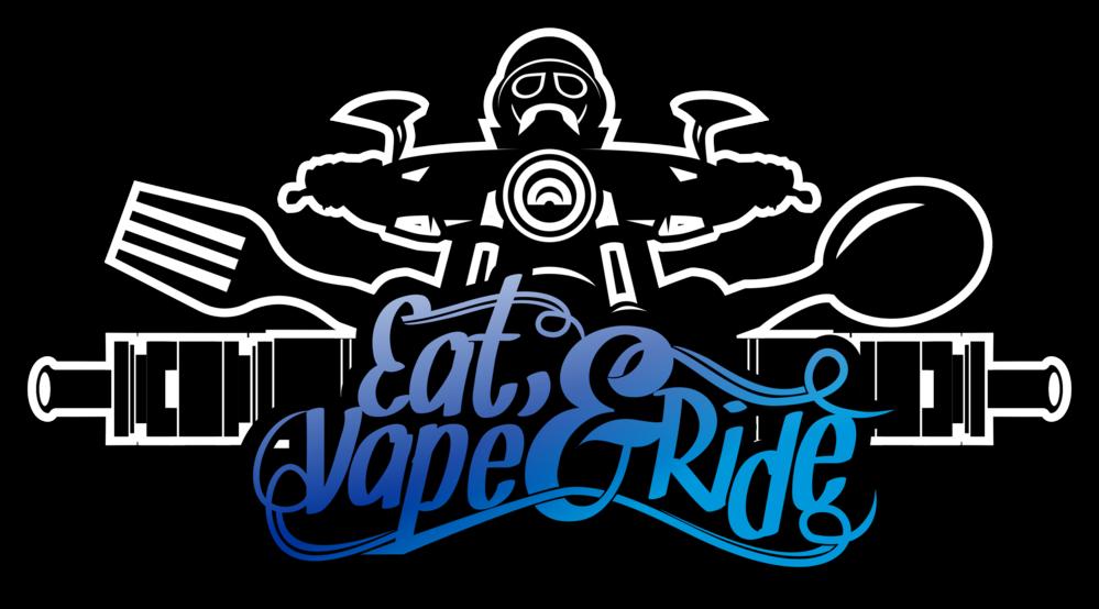 Eat Vape Ride Ladies T Shirt>