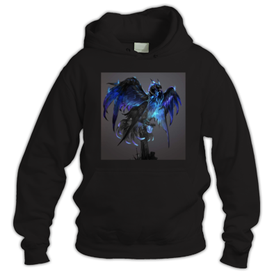 blue bird queen of pheonix's hoodie