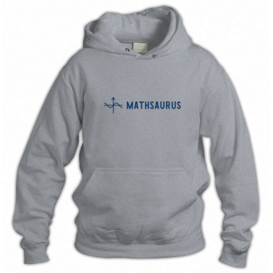 Mathsaurus hoodie