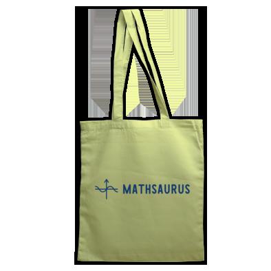 Mathsaurus tote bag