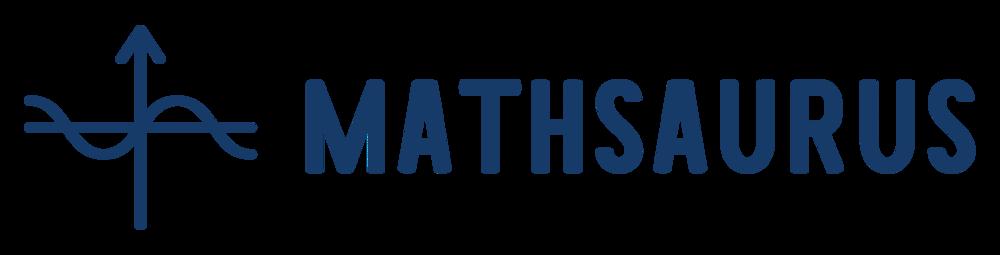Mathsaurus cap>