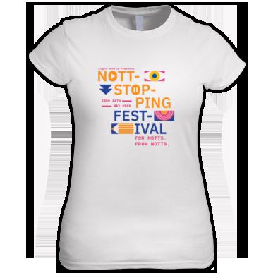 Nottstopping Festival - women's t-shirt