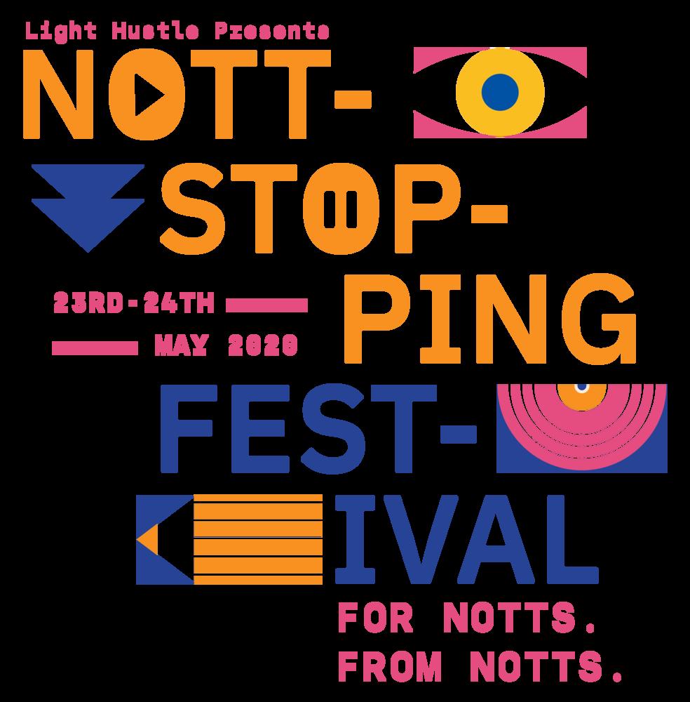 Nottstopping Festival - men's t-shirt>