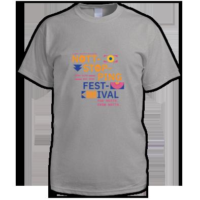 Nottstopping Festival - men's t-shirt