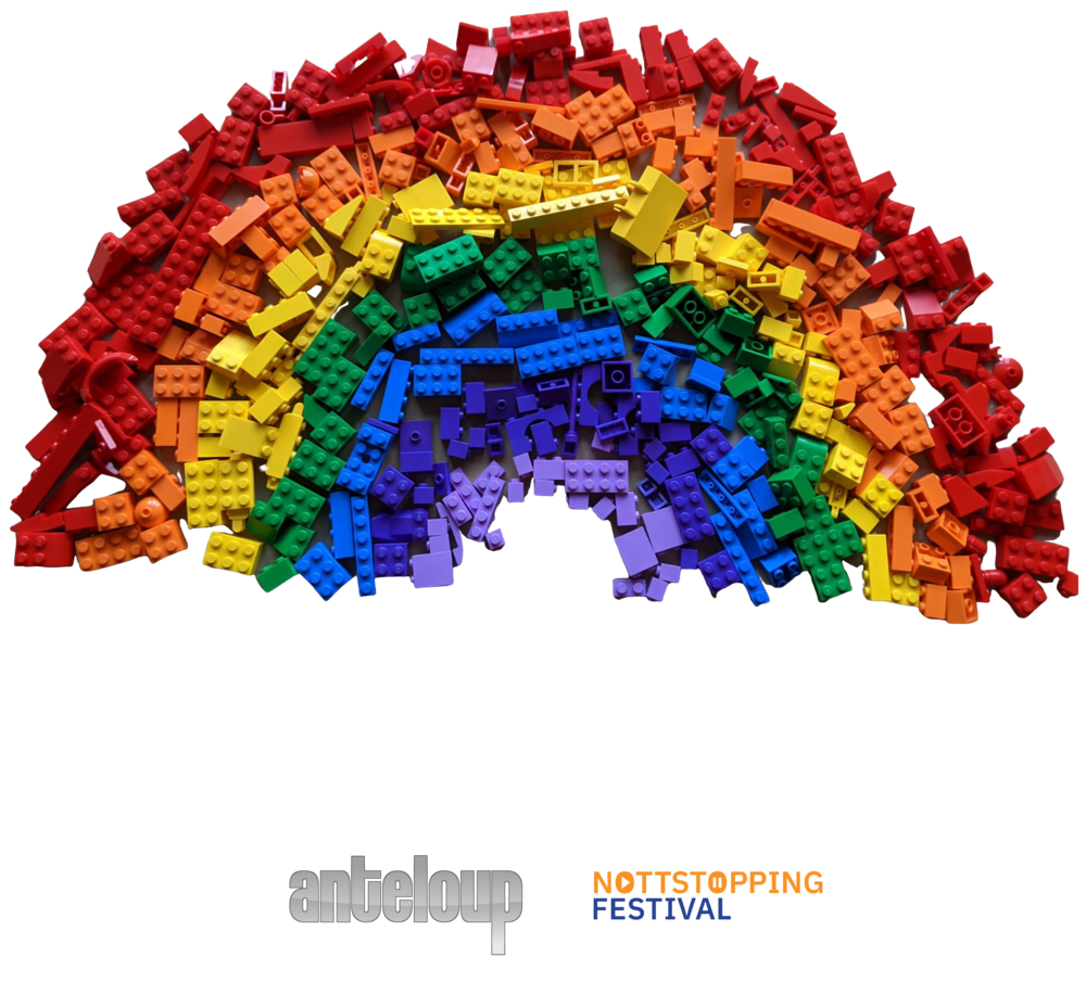 My Friend - Men's T-shirt - Anteloup for Nottstopping Festival>