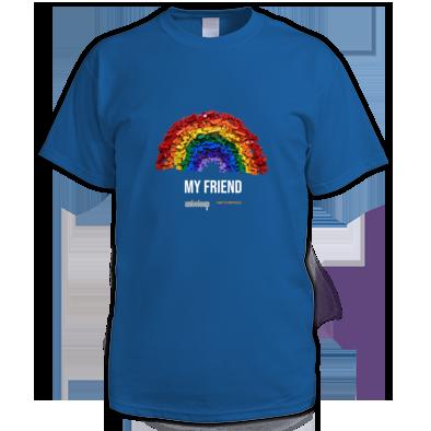 My Friend - Men's T-shirt - Anteloup for Nottstopping Festival