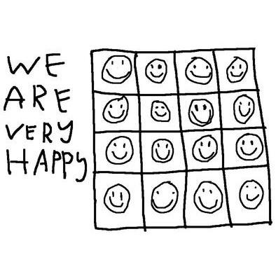 we are very happy