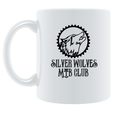 Silver Wolves MTB Club Mug