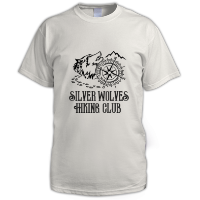 Silver Wolves Hiking Club Shirt