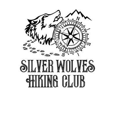 Silver Wolves Hiking Club Hoodie