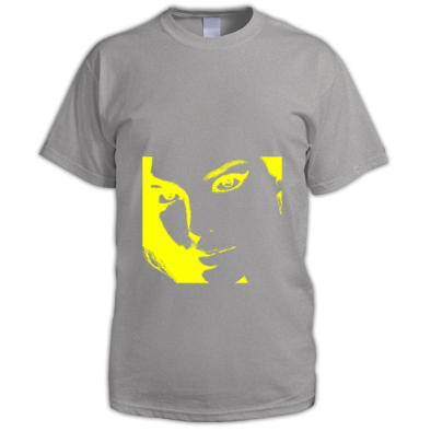 Yellow on Grey
