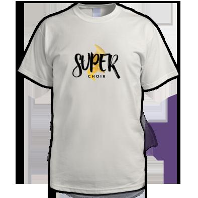 Superchoir Men's Tee White