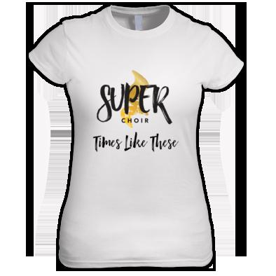 Women's Superchoir TLT Tee White