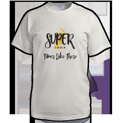 Men's Superchoir TLT Tee White