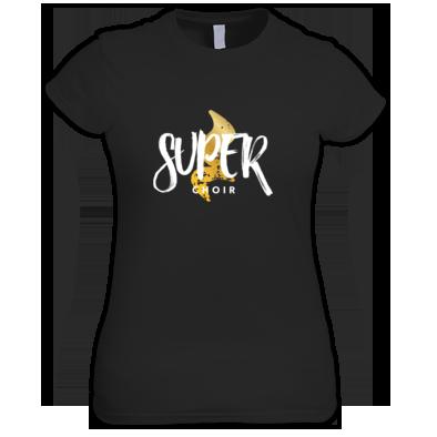Women's Superchoir Tee Black