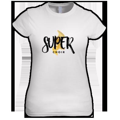Women's Superchoir Tee White