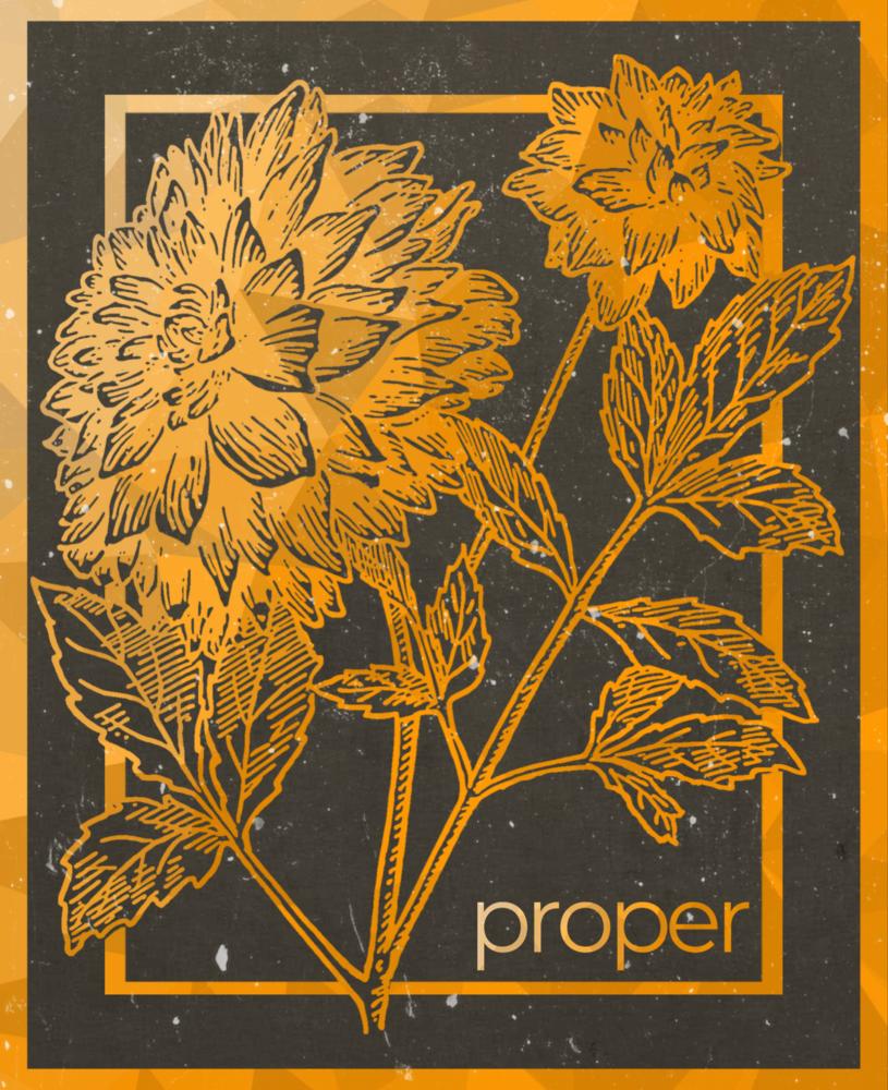 Proper Flower T-Shirt>