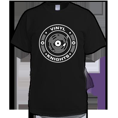 Vinyl Knights Men's T-Shirt Black