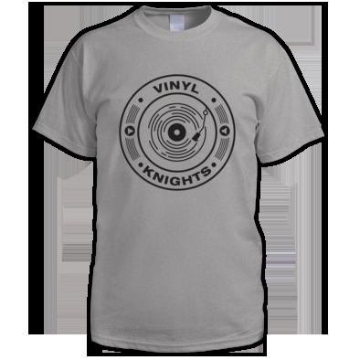 Vinyl Knights Men's T-Shirt Grey