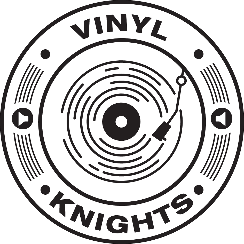 Vinyl Knights Ladies' T-Shirt White>