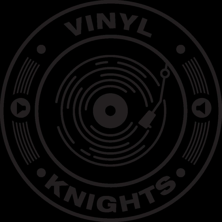 Vinyl Knights Unisex Hoodie Grey>