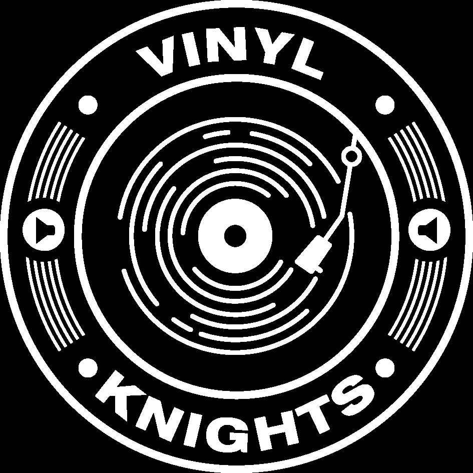 Vinyl Knights Unisex Hoodie Navy>