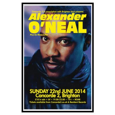 Alexander O'Neal Brighton 14
