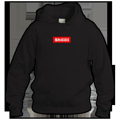 Shiiiiii Box Logo Hoodie
