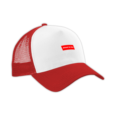 Attack On Drip Box Logo Hat