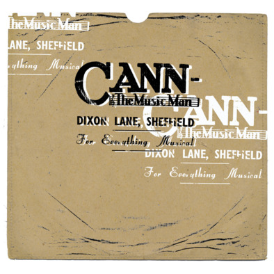 Cann The Music Man 78 rpm M>
