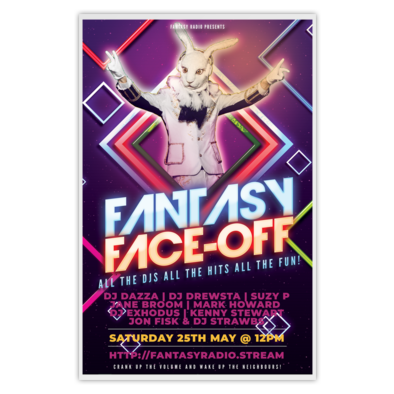Fantasy Face-Off 3 Poster for 25th May 2019