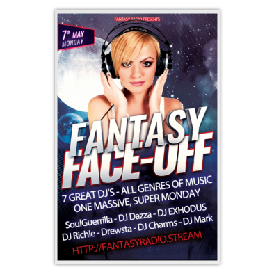 Fantasy Face-Off 1 Poster for 7th May 2018